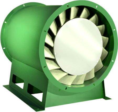 Fiberglass Reinforced Plastic Fans photo