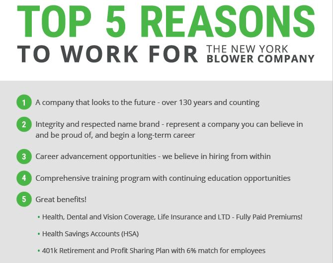 Top 5 Reasons to Work at nyb