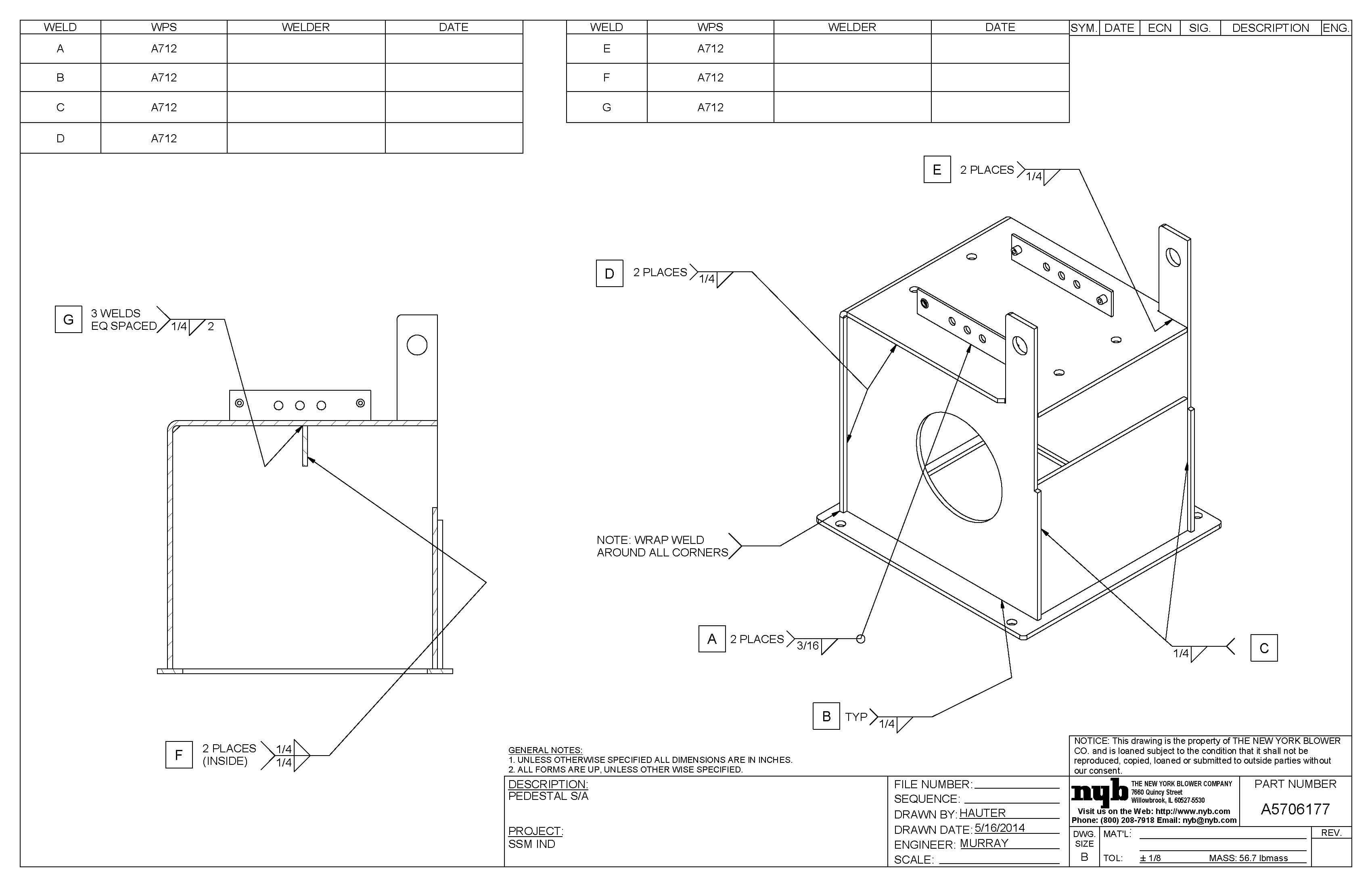 Weld Documentation New York Blower Company Diagram Of Welding Nyb Can Provide A Range Including Maps Procedure Specification Wps And Welder Qualification Records With Continuity